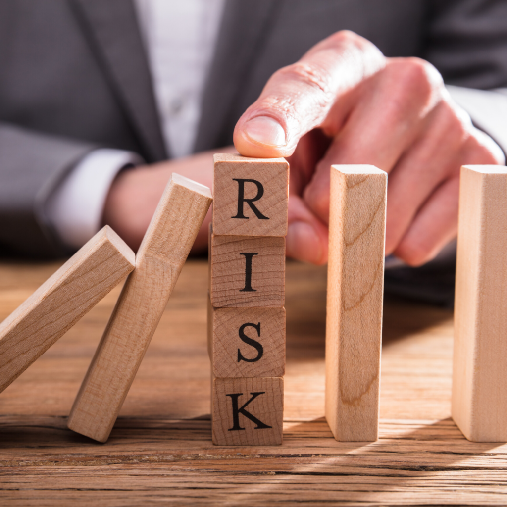 image representing risk